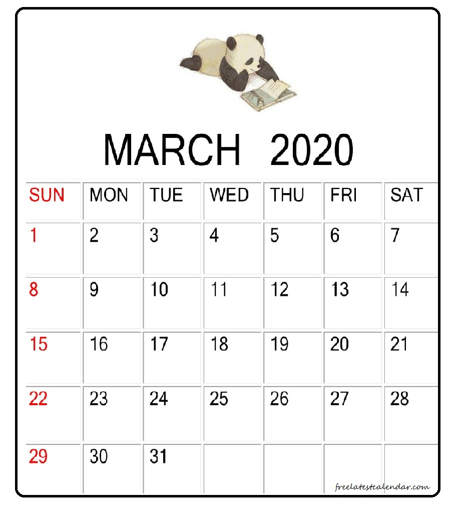 Cute March 2020 Calendar Desk Wallpaper Latest Calendar 907x1017