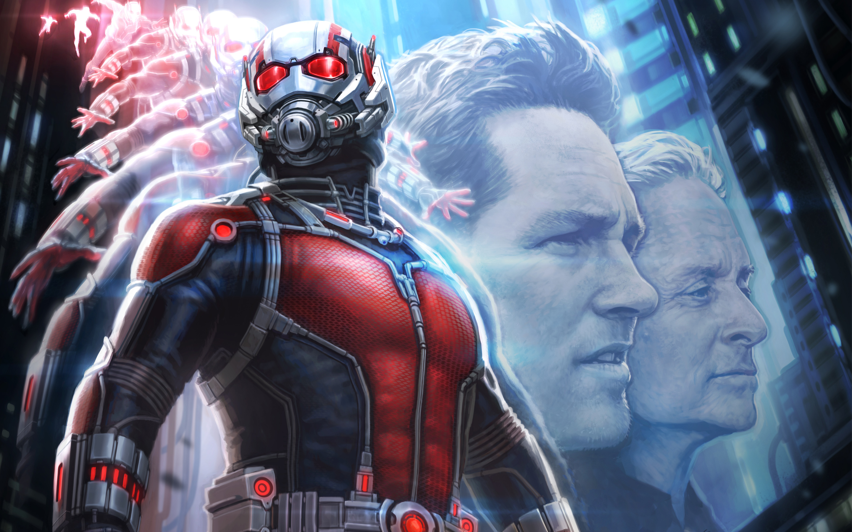 Ant Man Concept Art Wallpapers HD Wallpapers 2880x1800