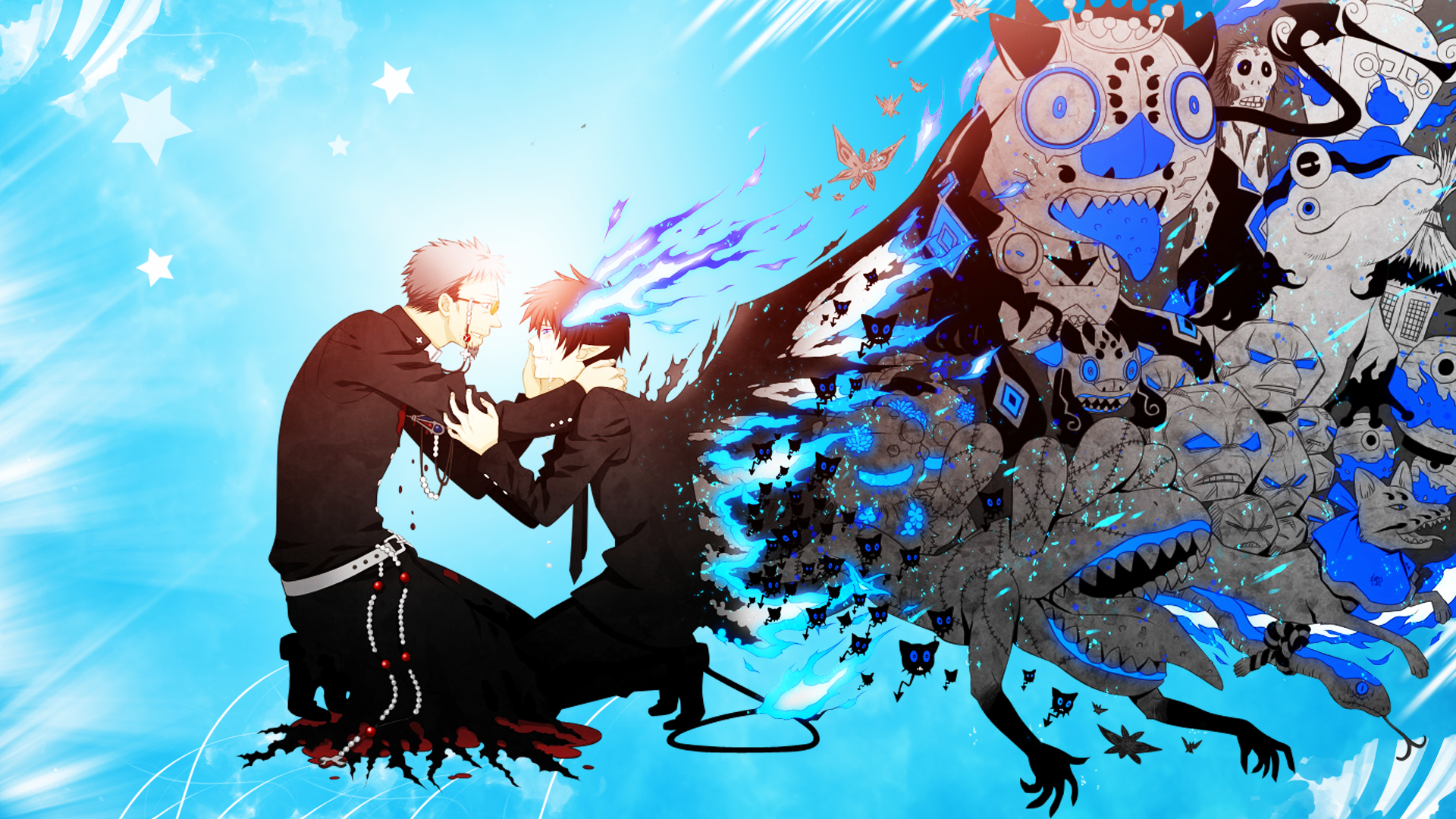 <b>Ao No Exorcist</b> Wallpaper - WallpaperSafari