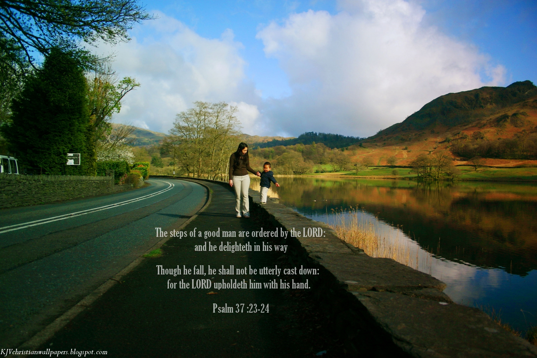 Psalm 3723 24   Firm the Steps Wallpaper   Christian Wallpapers and 1800x1200