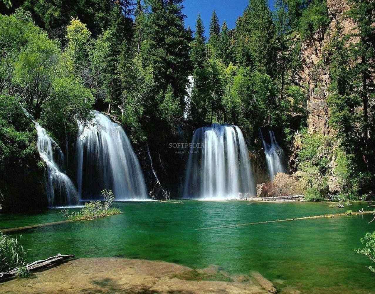 Screensaver wallpaper Download Nature Waterfall Beauty Screensaver 1277x1001