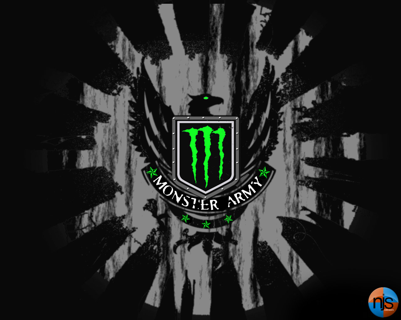 Monster Wallpaper by CS2byNJS 1280x1024