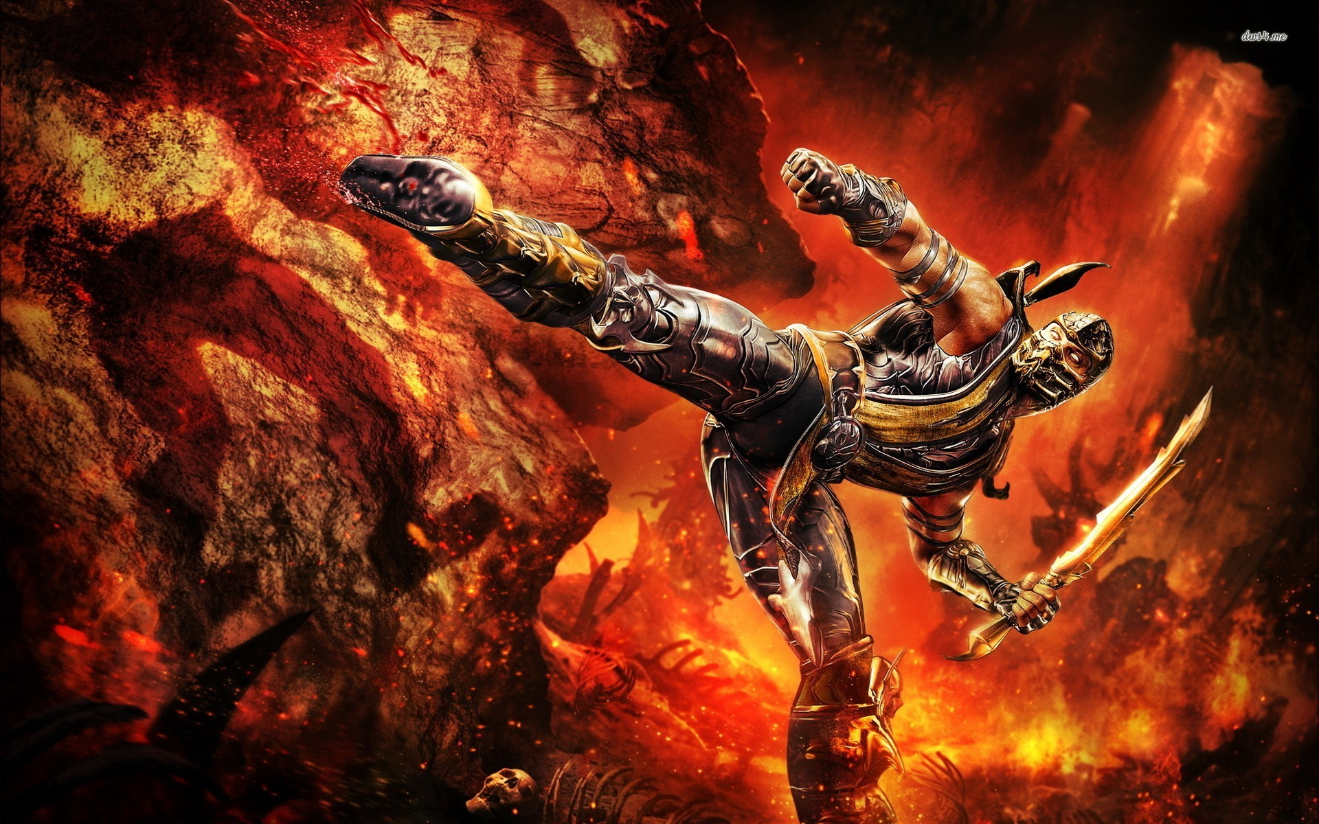 Scorpion   Mortal Kombat wallpaper   Game wallpapers   20085 1920x1200