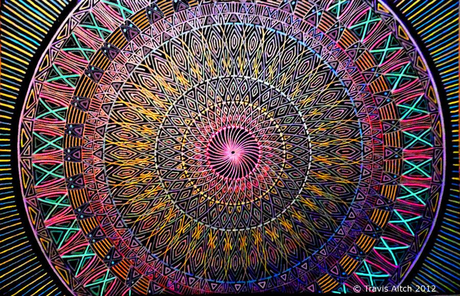 Mandala Fibonacci by TravisAitch 900x580