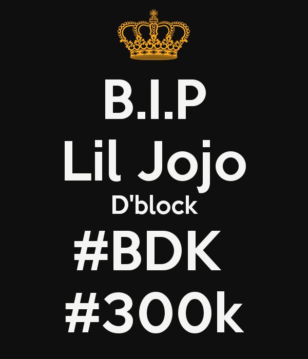 Lil Jojo Dblock BDK 300k Poster Dblock ngga Keep Calm o 600x700