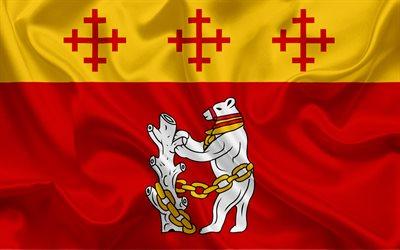 Download wallpapers Trondheim 2018 emblem logo Winter 400x250