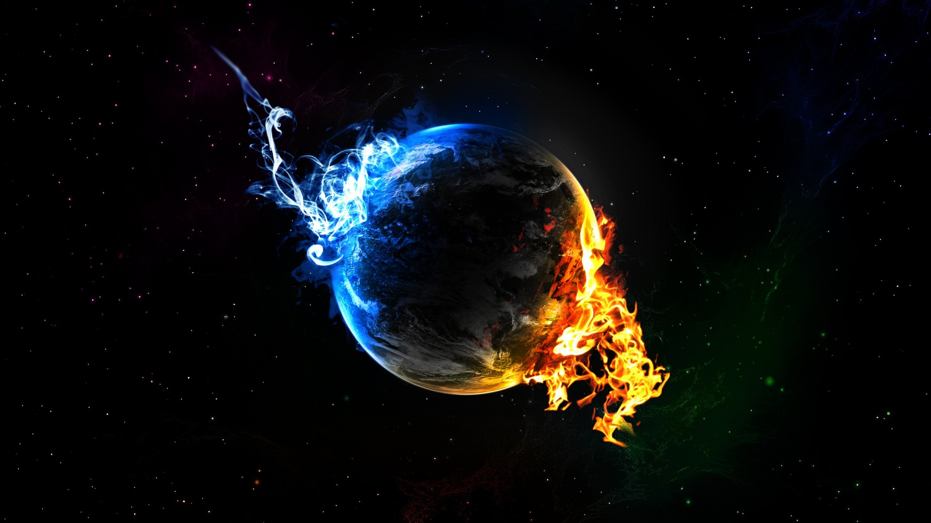 cool hd ice flame desktop wallpaper 1920x1080 1920x1080