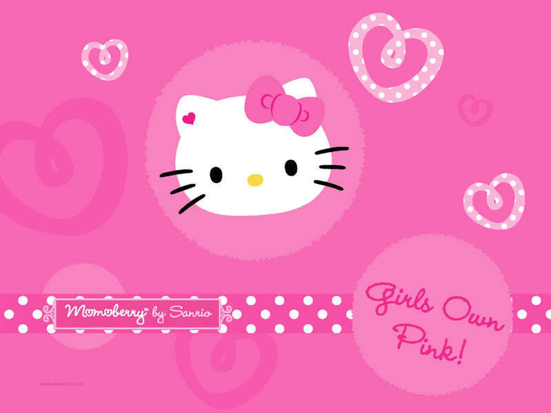 Hello Kitty Wallpaper hello kitty 10530218 800 600jpg 800x600