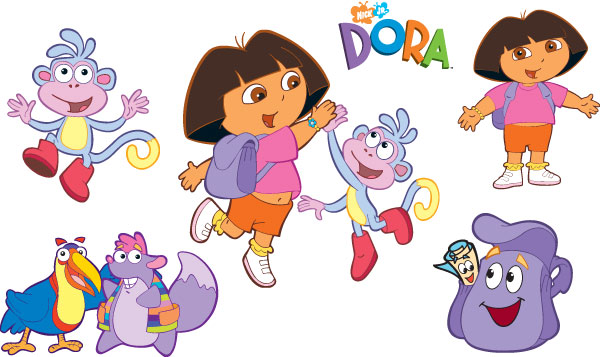 GO GO GO Dora The Explorer Wallpapers 600x357