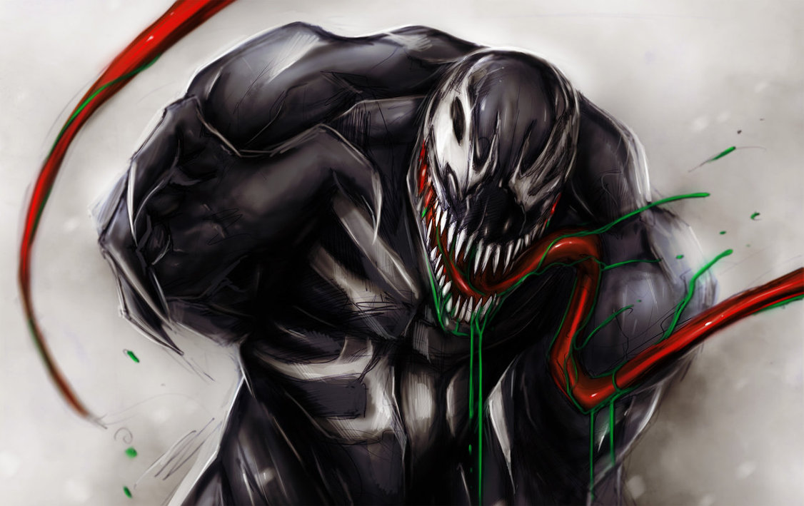 Venom Wallpaper by suspension99 1126x709