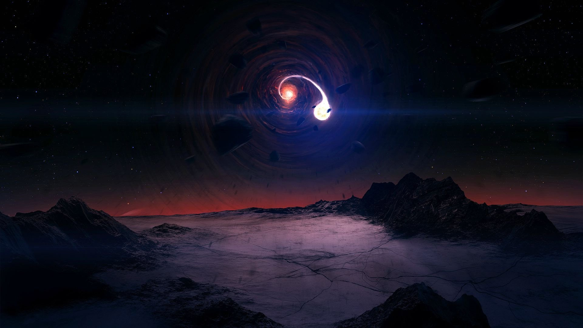 HD Black Hole Wallpapers 1920x1080