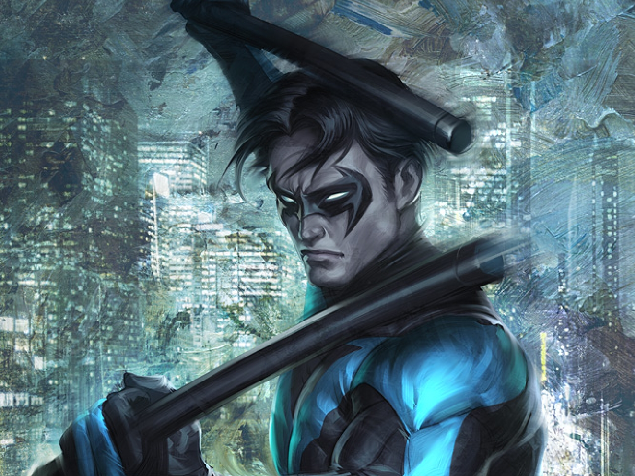 Nightwing Computer Wallpapers Desktop Backgrounds 1280x960 ID 1280x960