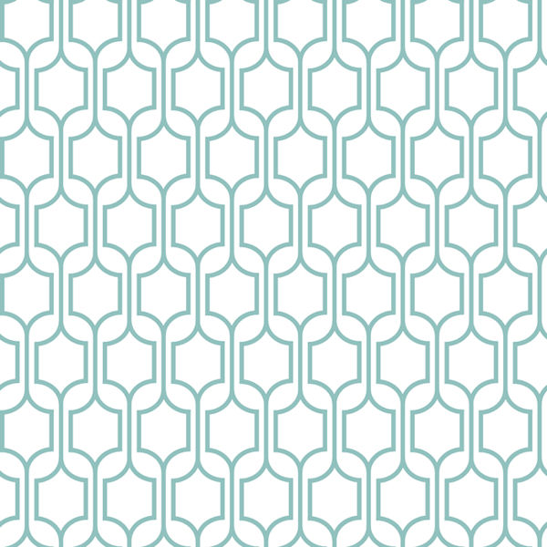 Blue Trellis Wallpaper   Wall Sticker Outlet 600x600