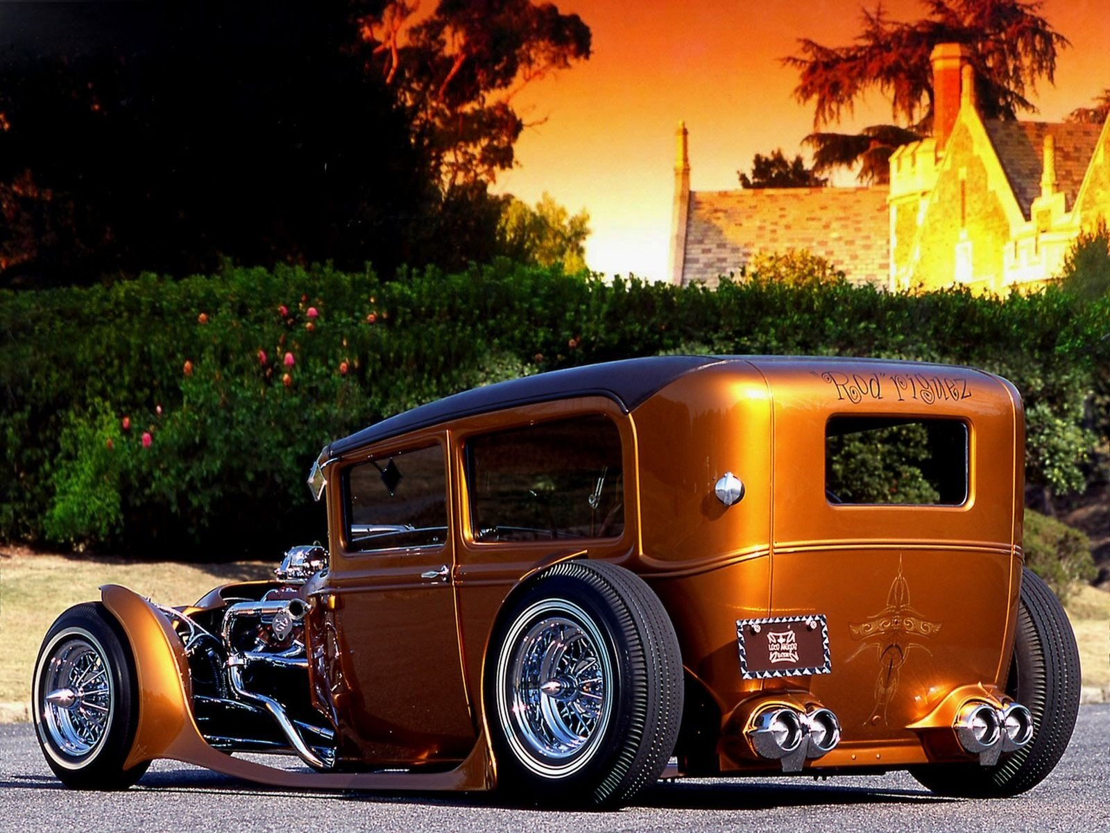 hot rod Computer Wallpapers Desktop Backgrounds 1600x1200 ID 1600x1200