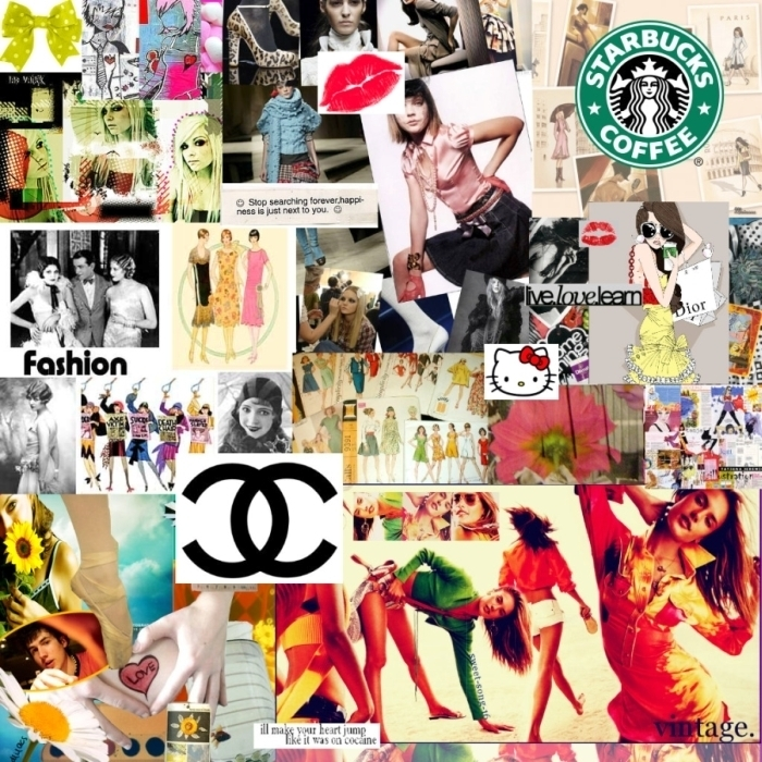 High Fashion Collage