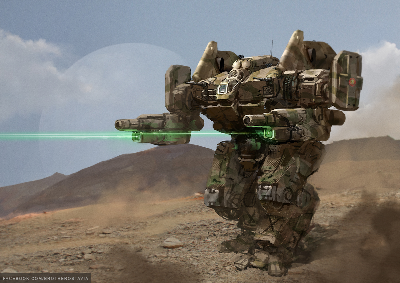 Mechwarrior Online art wallpapers 1280x919