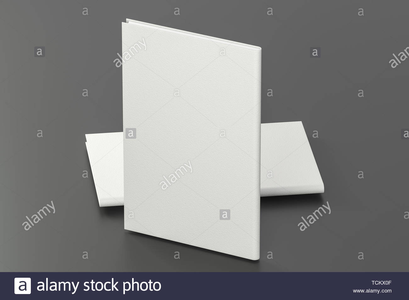 The organized hard cover notebooks 3d rendering Computer digital 1300x956