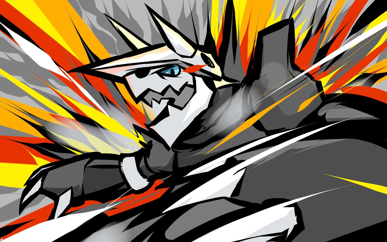 Aggron Metal Burst by ishmam 1600x1000