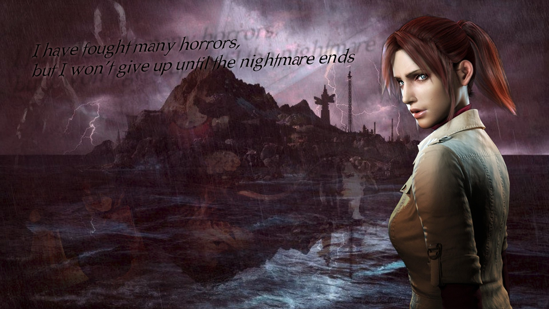 Claire Redfield Resident Evil Resident Evil 2 Capcom 1920x1080