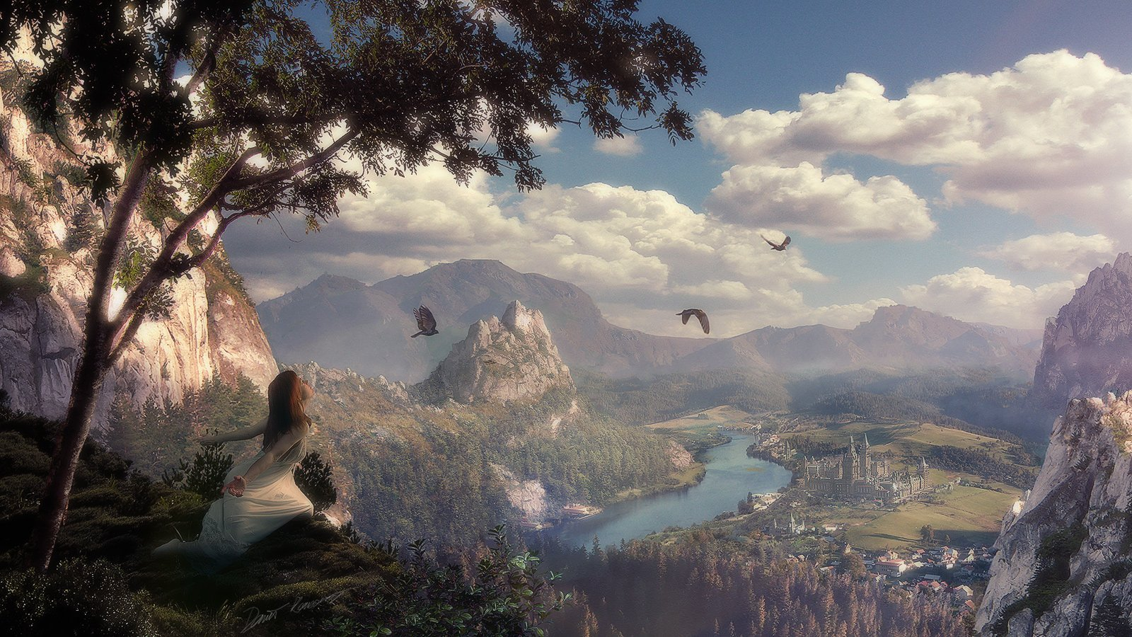 fantasy landscape wallpaper | all hd wallpapers gallerry
