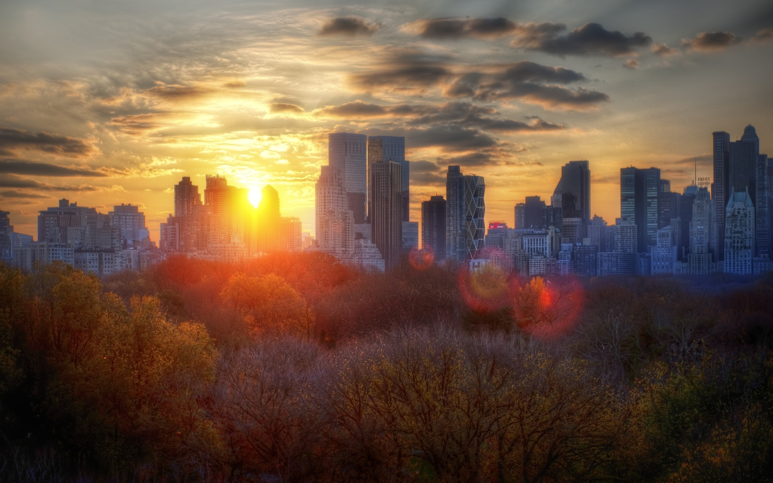 New York City Sunrise Wallpaper 4K Wide Screen Wallpaper 1080p2K4K 2560x1600