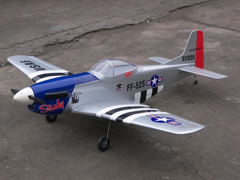 Top Catalog P 51 Mustang Stinky 57 Nitro Gas RC Airplane ARF 960x720