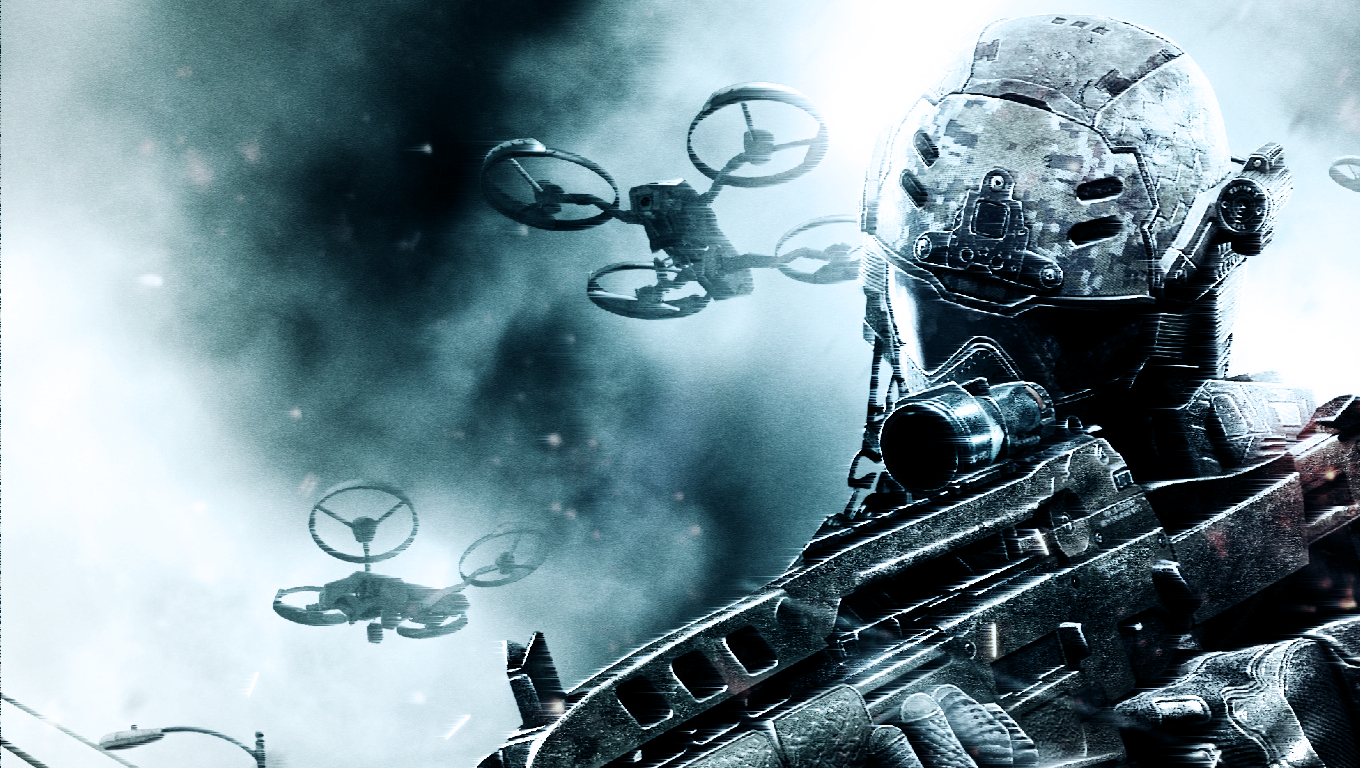 Call Of Duty BO2 Wallpaper HD by 196Media 1360x768