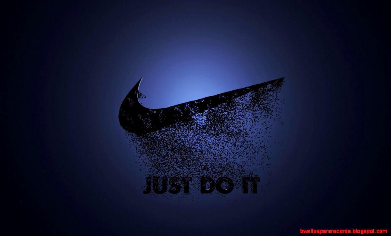 Nike Dark Logo Hd Wallpaper Best Wallpapers 1344x810