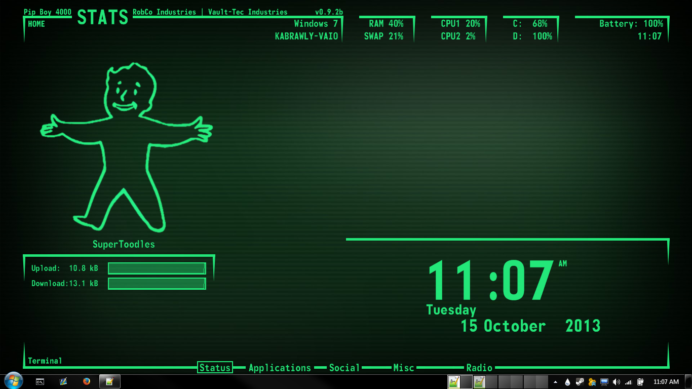 pipboy live wallpaper free