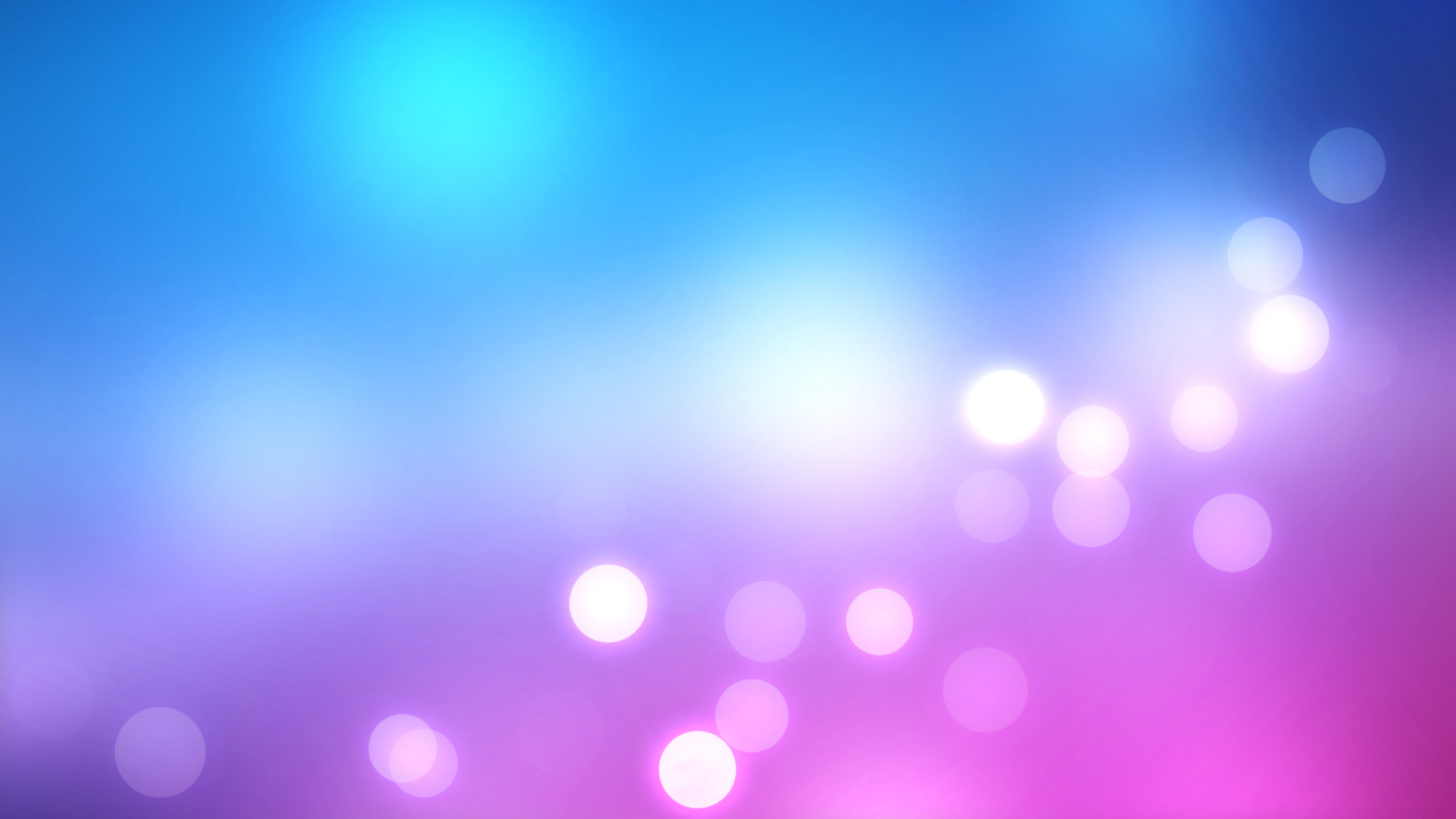 purple wallpapers blue lights bokeh wallpaper desktop 2560x1440