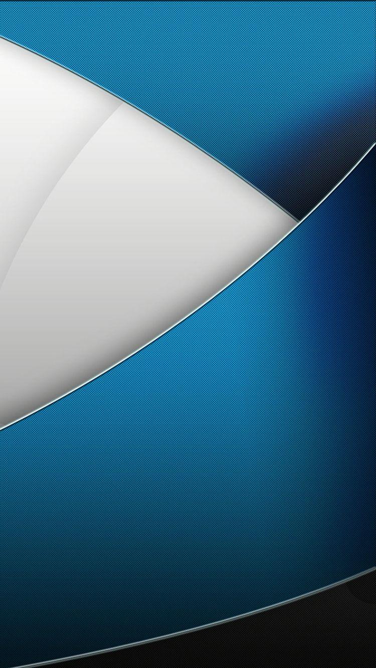 white and blue abstract wallpaper at Wallzappcom Abstract 750x1334