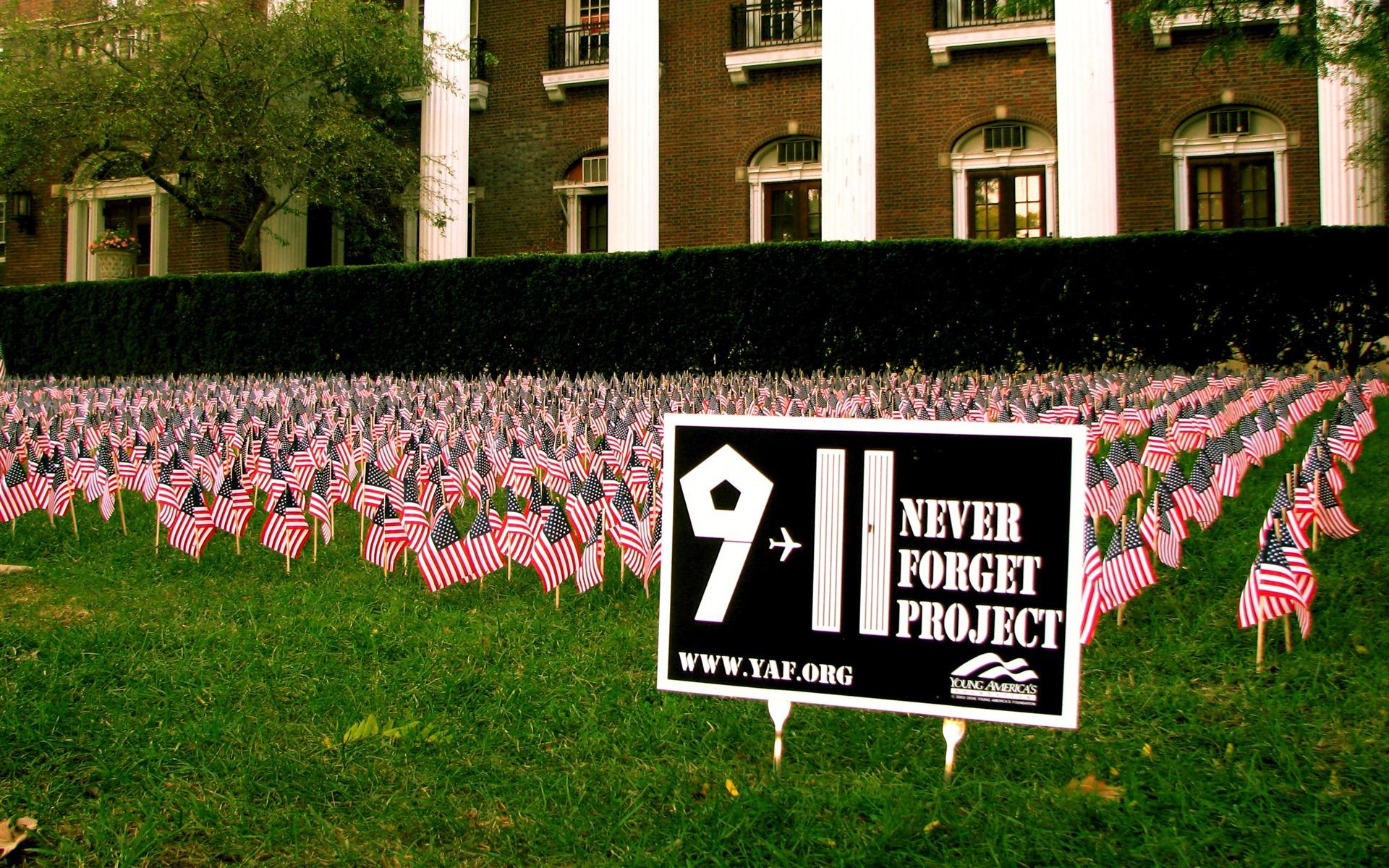 911 10th Anniversary Memorial Wallpaper   HD Background 1920x1200