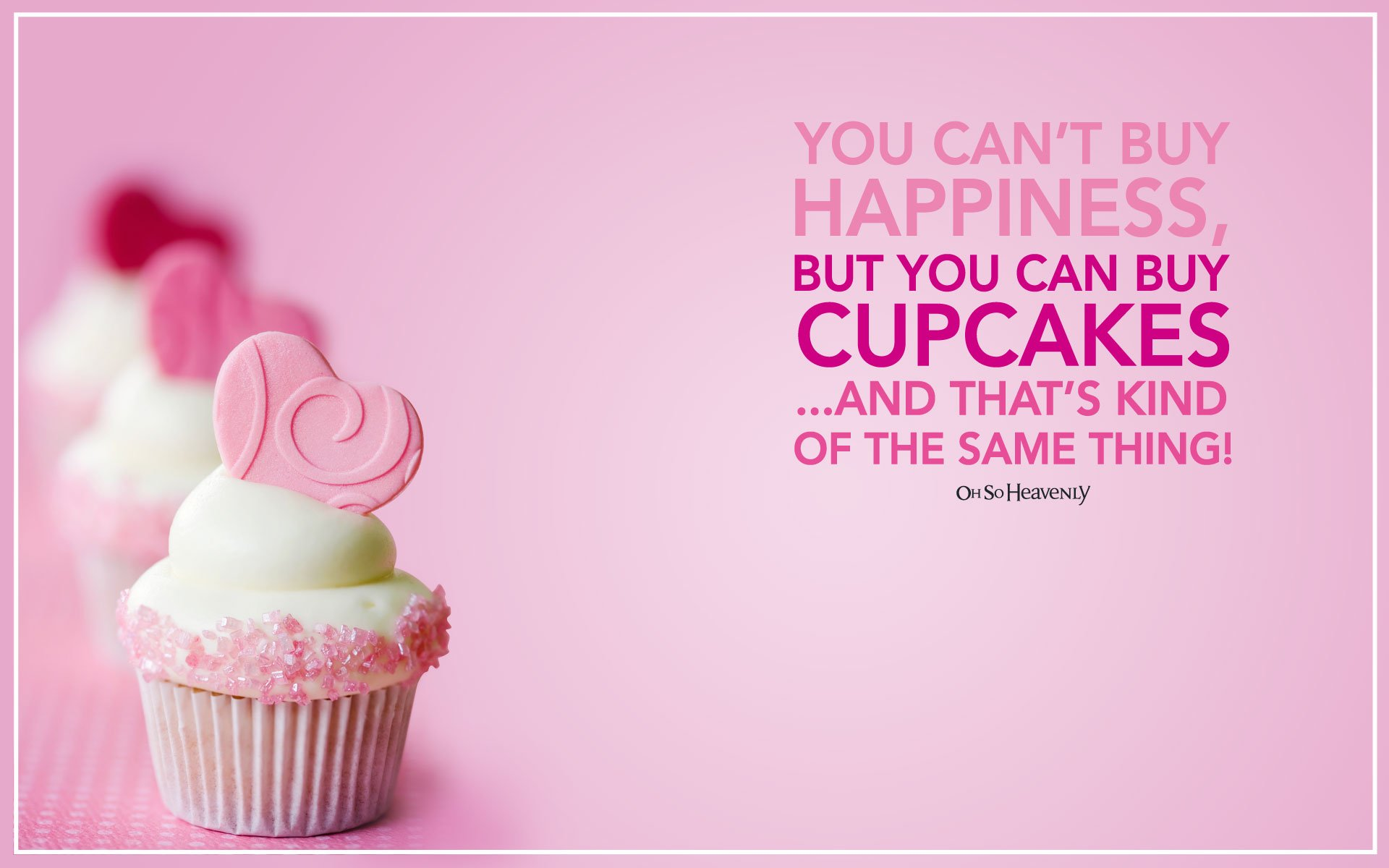 Pretty Pink Cupcakes Wallpaper Widescreen 10978 Wallpaper Wallpaper 1920x1200