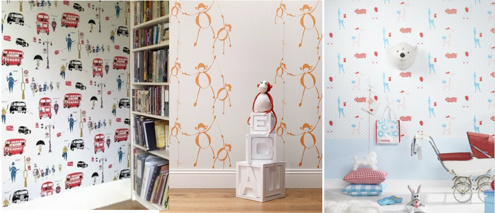 The Designers Attic Clarence House Wallpaper 966x416