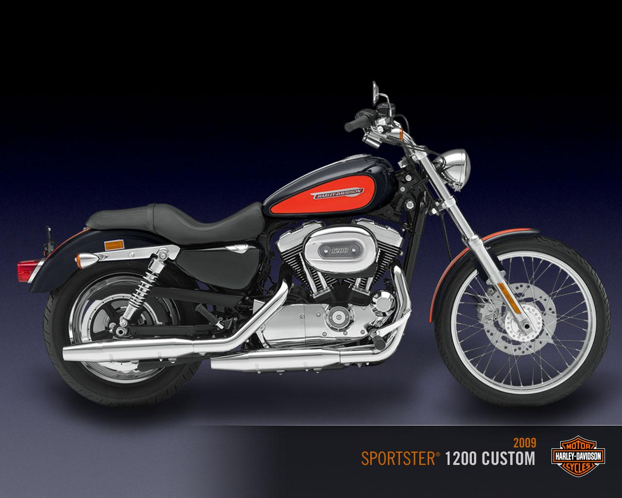 Harley Sportster Wallpaper Harley Davidson Sportster 1280x1024