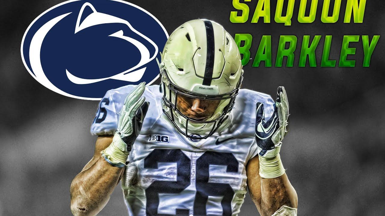 Saquon Barkley The Tackle Breaker Penn State 1280x720