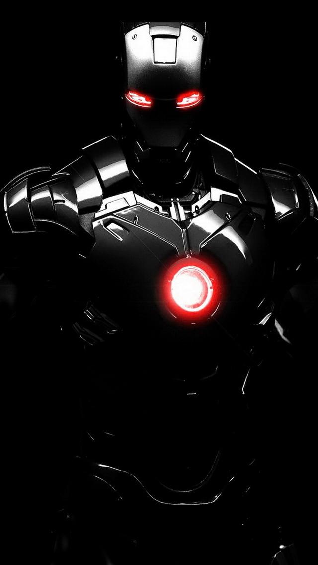 Iron Man In The Dark 640x1136