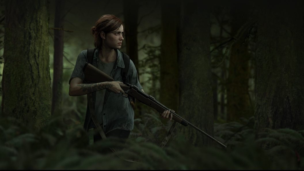 The Last of Us Part 2 Ellie Wallpaper PS4Wallpaperscom 1056x594