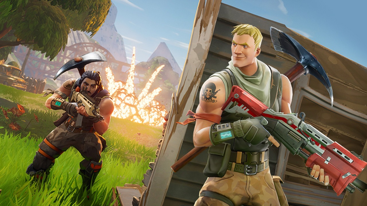 Fortnite Battle Royale vai poder ser jogado de graa 1280x720