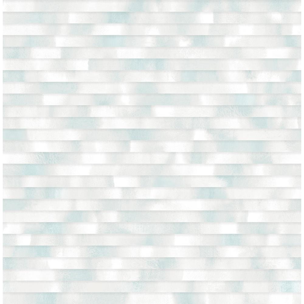 A Street 564 sq ft Kalmar Light Blue Hazy Stripe Wallpaper 2889 1000x1000