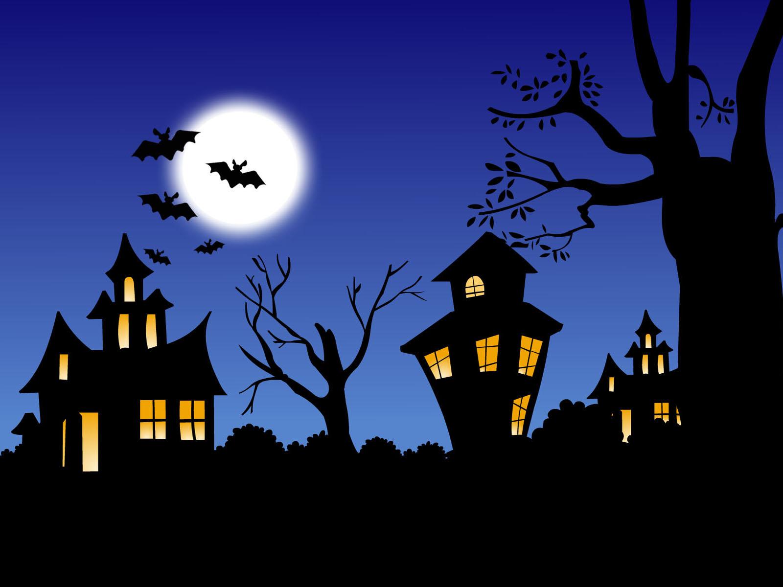 Halloween night wallpapers Halloween night stock photos 1600x1200
