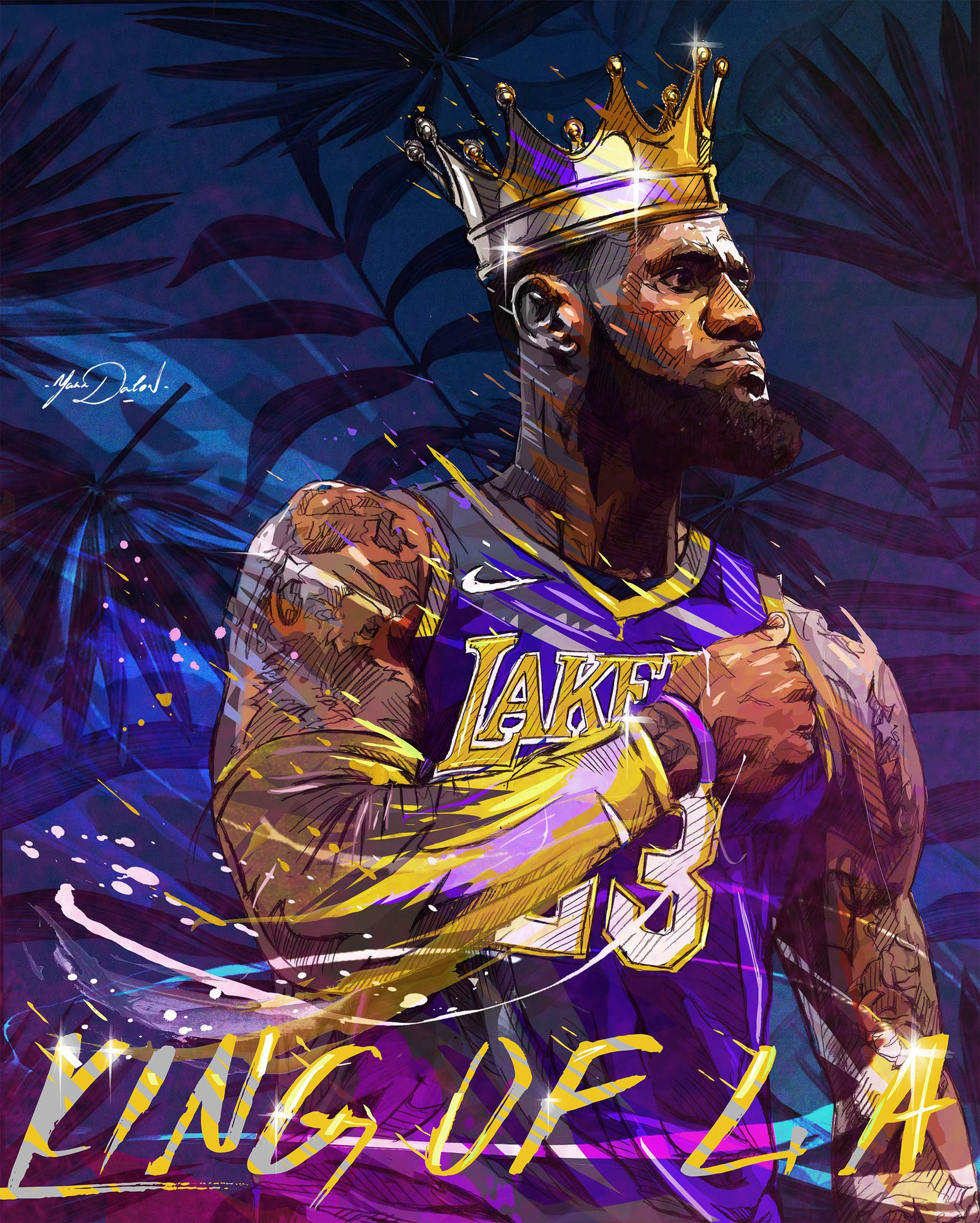 Lebron James Lakers Wallpapers - WallpaperSafari