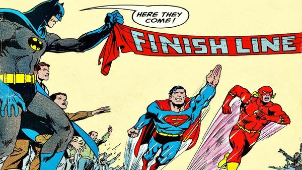 Vintage Superhero Wallpaper