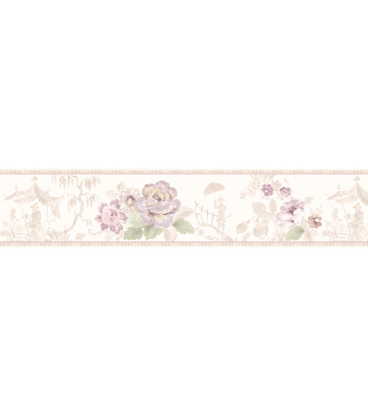 Toile Scenic Floral Wallpaper Border Multicolor SampleToile Scenic 1200x1360