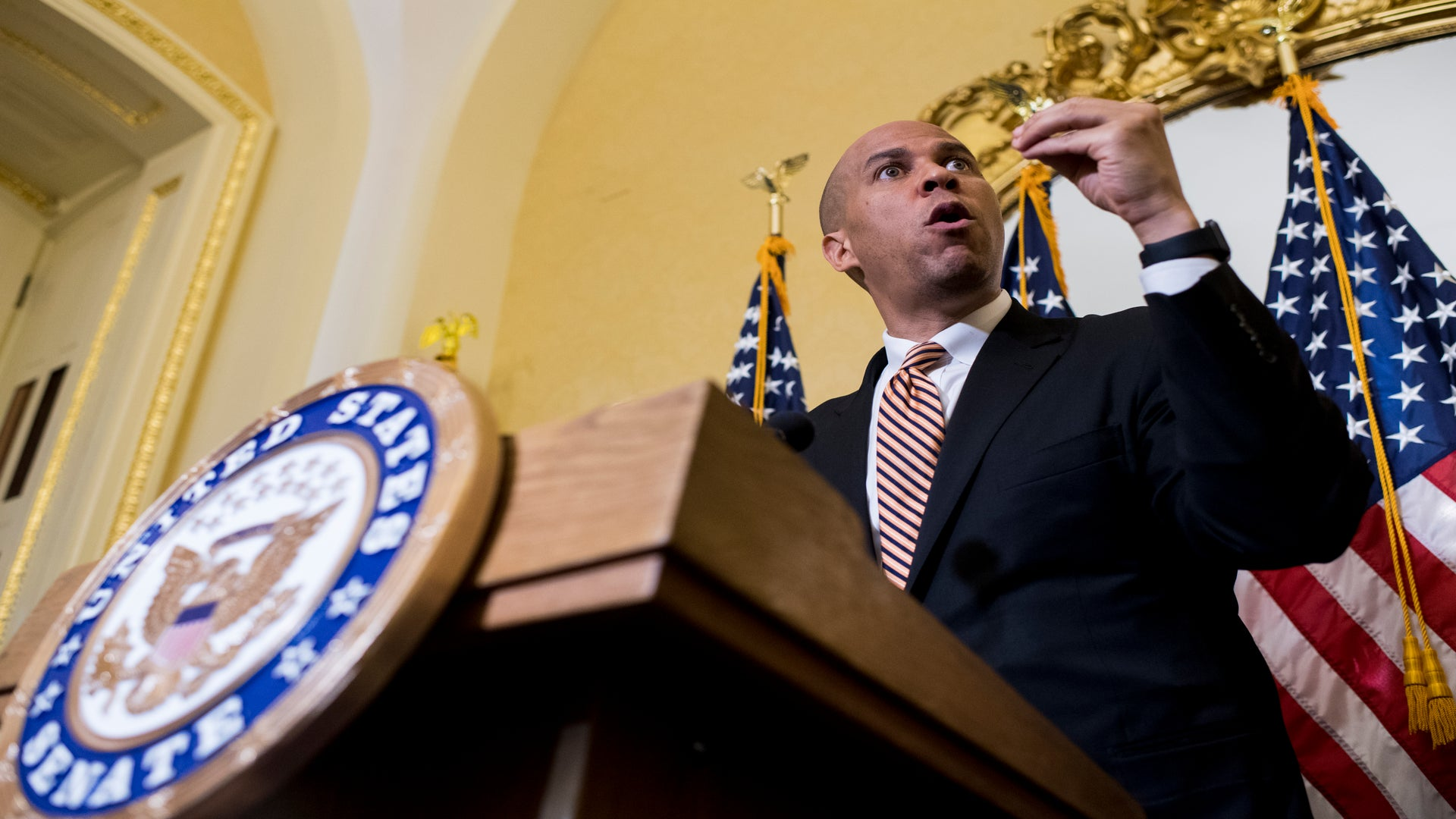 Cory Booker Announces 2020 Presidential Bid On The First Day Of 1920x1080