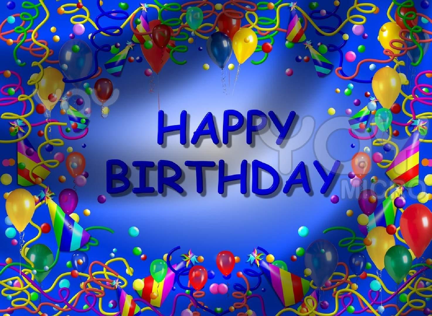 Free Birthday Background Images