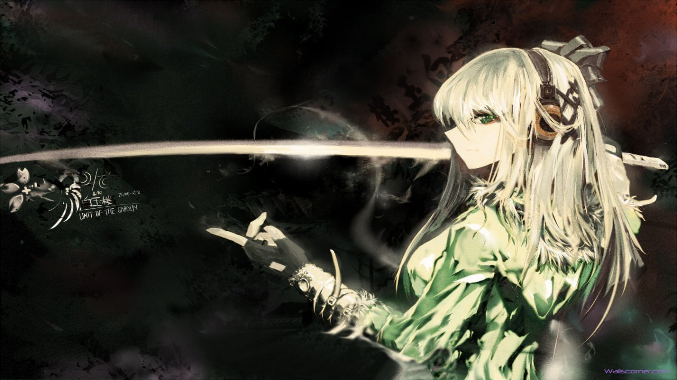 HD Anime Wallpaper 1366x768