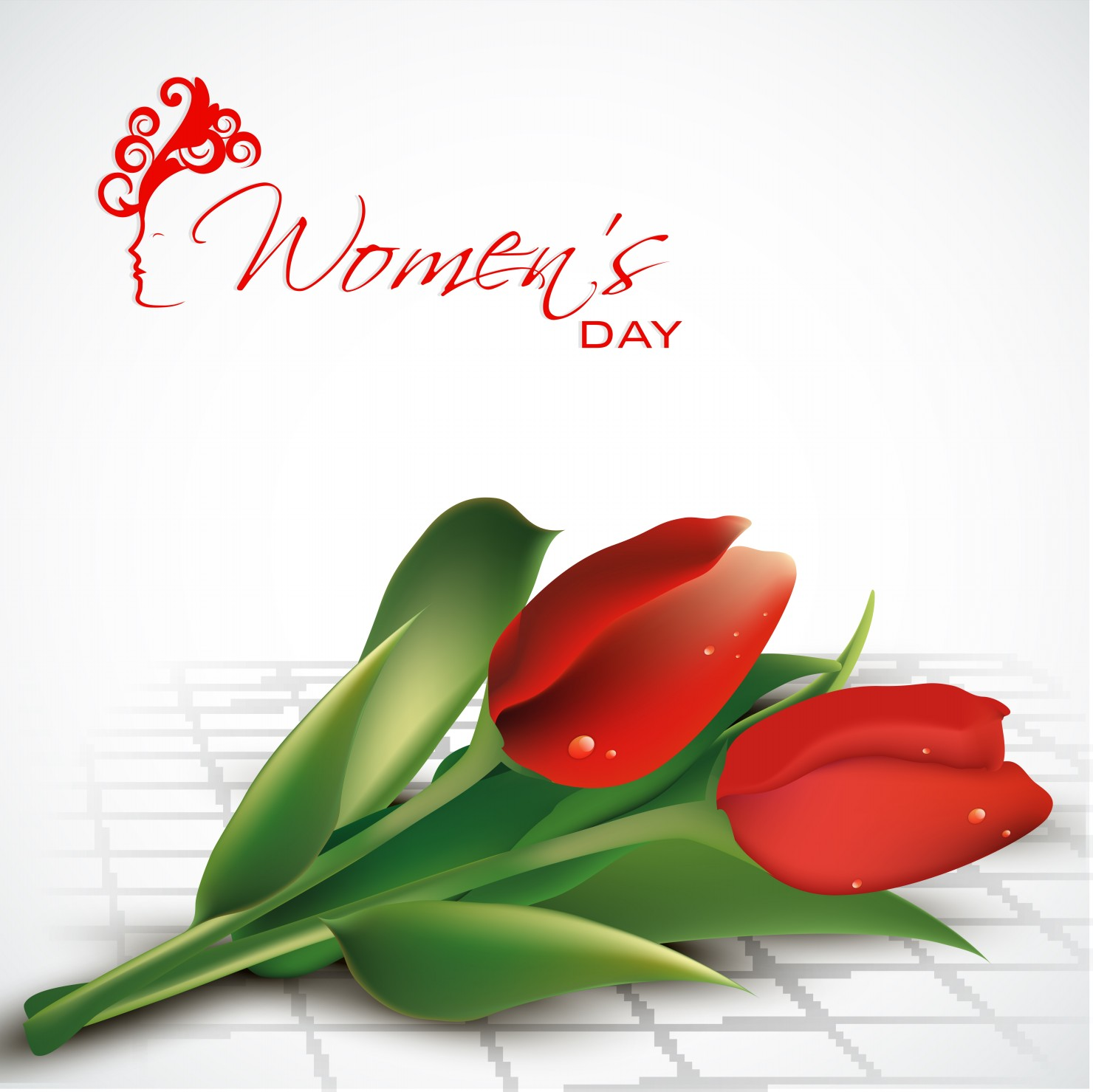 Womens Day Celebrations with Stylish Cards Images Wallpapers 1480x1479