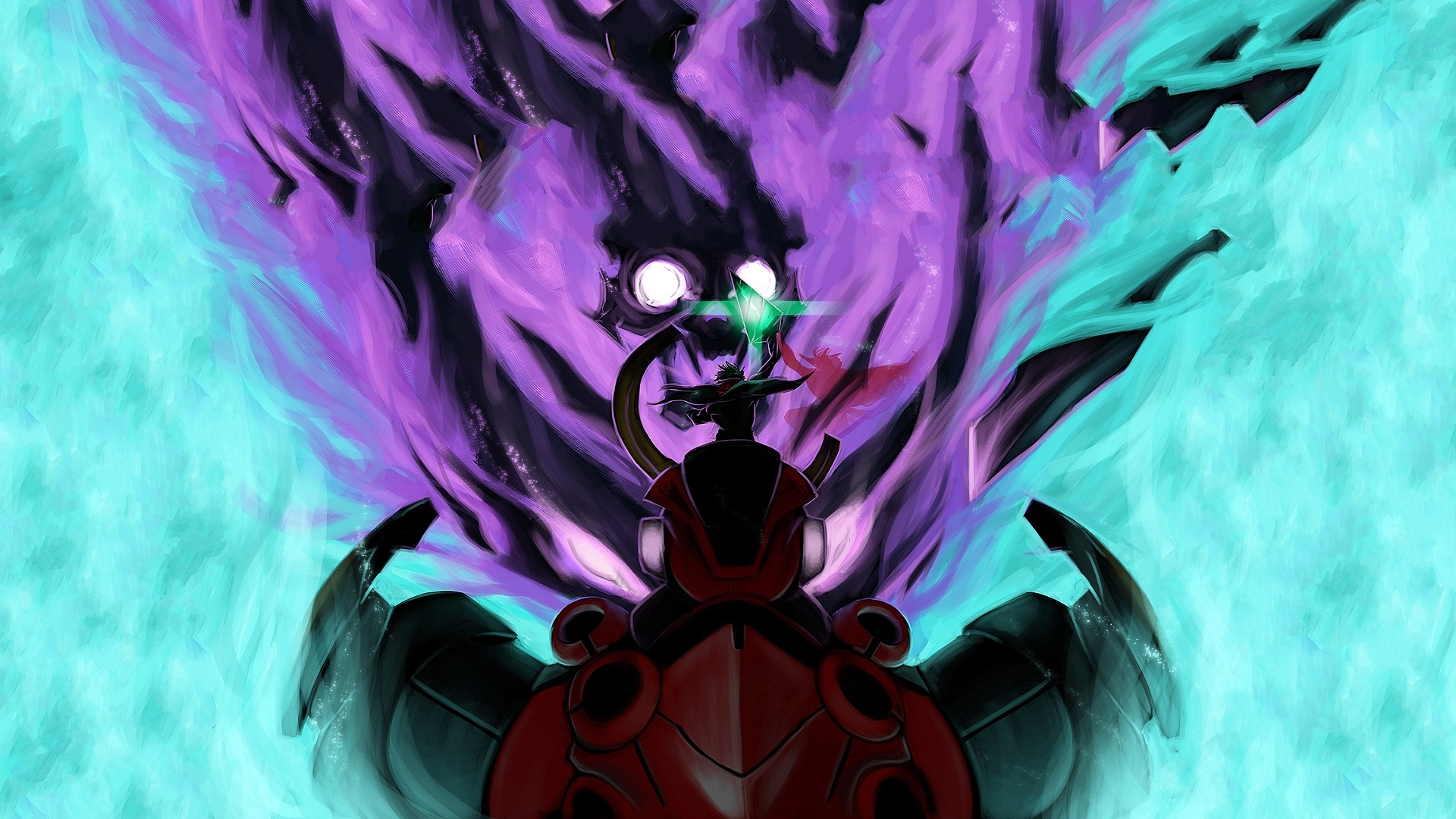 Gurren lagann wallpaper 1080p wallpapersafari - Gurren lagann wallpaper ...