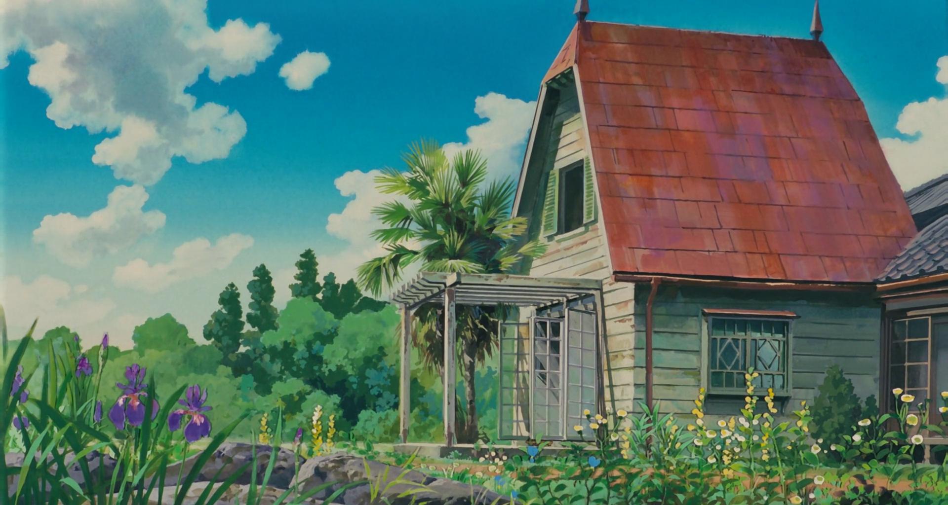 Wallpaper studio ghibli desktop background 1920x1024